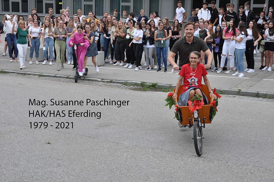 Pensionierung Susanne Paschinger